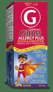 Children's Giltuss<sup>®</sup> Allergy Plus Cough & Congestion
