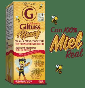 Children's Giltuss<sup>®</sup> Honey Cough & Chest Congestion