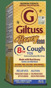 Giltuss<sup>®</sup> Honey DM 8hr Cough