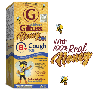 Children's Giltuss<sup>®</sup> Honey<br />DM 8hr Cough